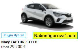 Nový CAPTUR E-TECH Plug-in hybrid