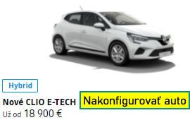 Nové CLIO E-TECH Hybrid