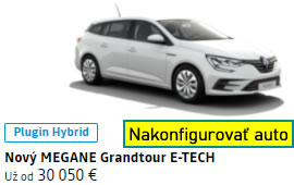 Nový Renault MEGANE Grandtour E-TECH Plug-in hybrid